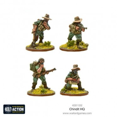 Bolt Action - Chindit HQ
