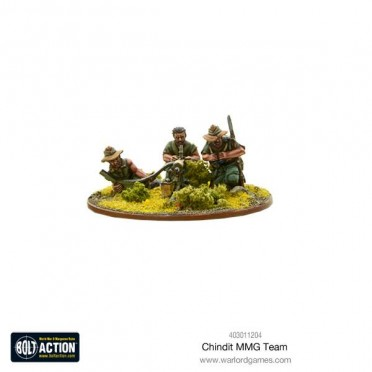 Bolt Action - Chindit MMG team