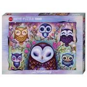 Puzzle - Great Big Owl de Jeremiah Ketner - 1000 Pièces