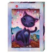 Puzzle - Black Kitty de Jeremiah Ketner - 1000 Pièces