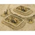 Desert Sandbags Gun Pit Markers 4