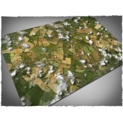 Terrain Mat Cloth - Aerial Field - 120x180