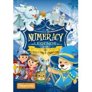 Numeracy Legends and the Gluttony Dragon