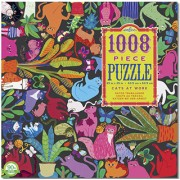 Puzzle - Cats at Works de Monika Forsberg - 1008 Pièces