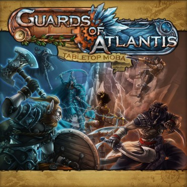 Guards of Atlantis - Tabletop MOBA