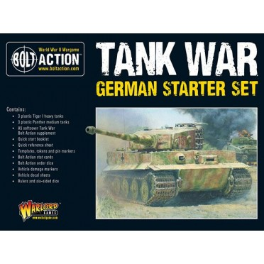 Bolt Action - Tank War: German Starter Set