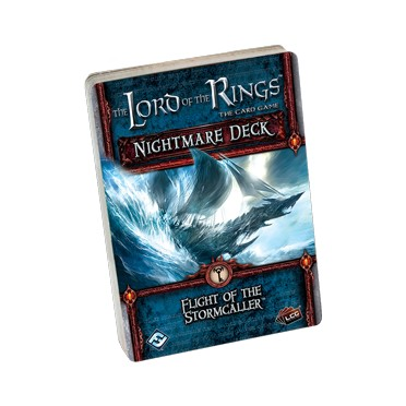 Lord of the Rings LCG - Flight of the Stormcaller Nightmare Deck