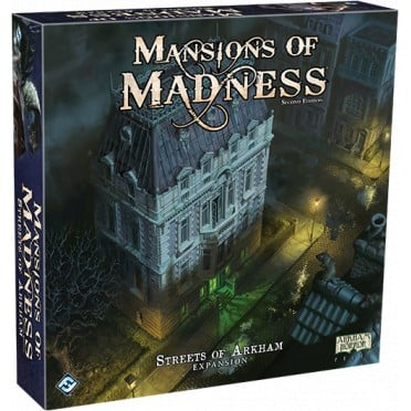 Mansions of Madness - Streets of Arkham Expansion expansion