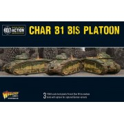 Bolt Action - Char B1 bis Platoon