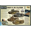 Bolt Action - Char B1 bis Platoon 1