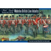 Black Powder -  Napoleonic British Line Infantry (Waterloo Campaign) pas cher
