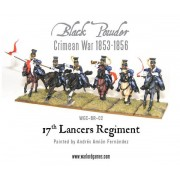 Black Powder - Crimean War: 17th Lancers regiment 1853-1856 pas cher