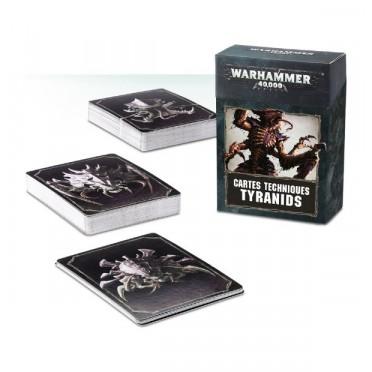 W40K : Accessoires - Cartes Techniques Tyranids VF
