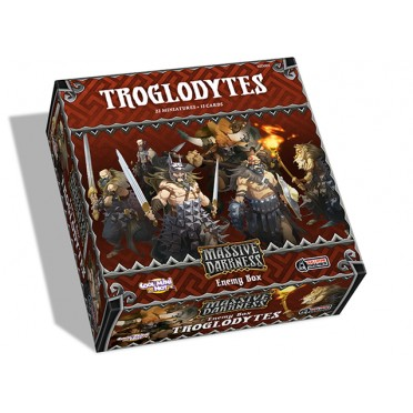 Massive Darkness (Anglais) - Enemy Box - Troglodytes
