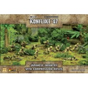 Konflikt 47 - Japanese Infantry with Compression Rifles