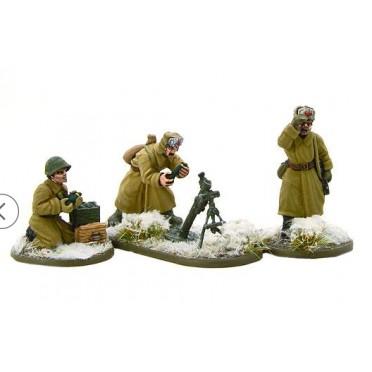 Bolt Action - Soviet 82mm Medium Mortar Team (Winter)