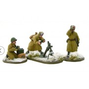 Bolt Action - Soviet 82mm Medium Mortar Team (Winter)