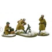 Bolt Action - Soviet 82mm Medium Mortar Team (Winter) pas cher