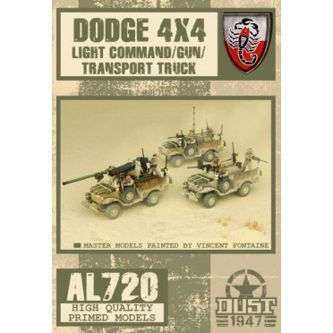 Dust - Dodge Light Truck - Command/Gun/Transport
