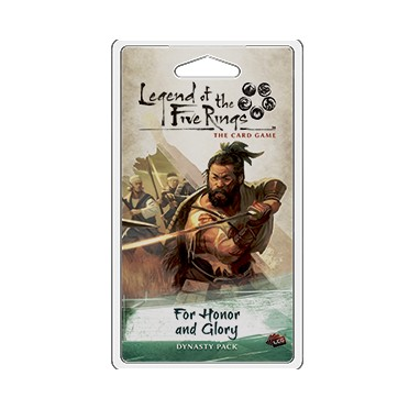 Legend of the Five Rings: The Card Game : For Honor and Glory Expansion pack