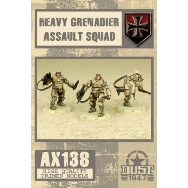 Dust - Heavy Grenadier Assault Squad