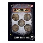 Citadel : Socles - Necromunda 32mm Bases (x10)