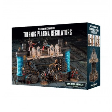 W40K : Décors - Sector Mechanicus Thermic Plasma Regulators