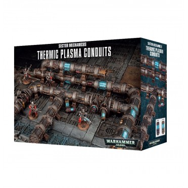 W40K : Décors - Sector Mechanicus Thermic Plasma Conduits