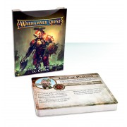 Warhammer Quest - Chaos Adversary Cards VF