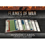 Flames Of War Mission Cards