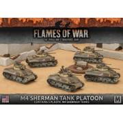 M4 Sherman Tank Platoon