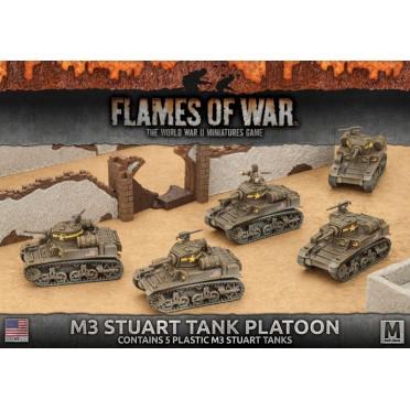 M3 Stuart Light Tank Platoon