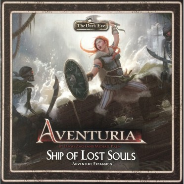 Aventuria - Adventure Card Game - Ship of Lost Souls Expansion