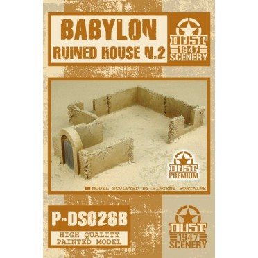 Dust - Babylon Ruined House 2 - Babylon Pattern