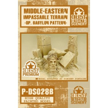 Dust - Babylon Impassable Terrain - Babylon Pattern