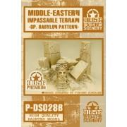 Dust - Babylon Impassable Terrain - Babylon Pattern