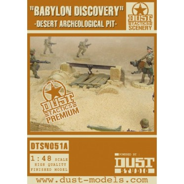 Dust - Desert Archeological Pit - Babylon Pattern
