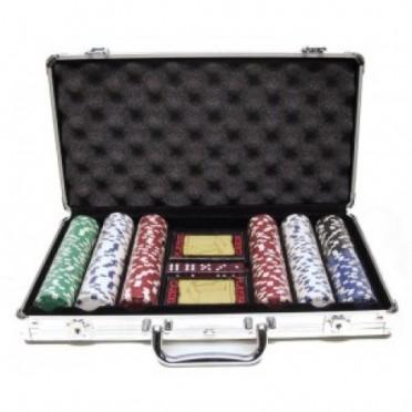 Malette Poker Alu 300 jetons