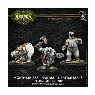 Hordes - Northkin Bear Handler & Battle Bears