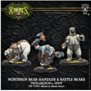 Hordes - Northkin Bear Handler & Battle Bears