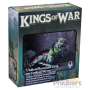 Kings of War - Roi Revenant sur Serpent Mort-Vivant