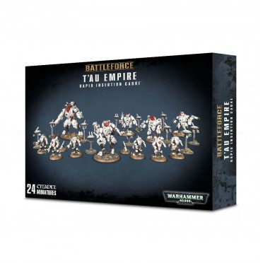 W40K : Battleforce - T'au Empire Rapid Insertion Cadre