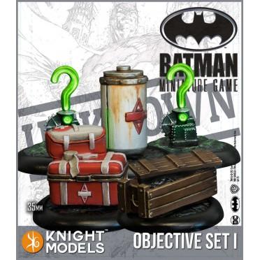 Batman - Objective Game Markers Set 1