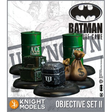 Batman - Objective Game Markers Set 2
