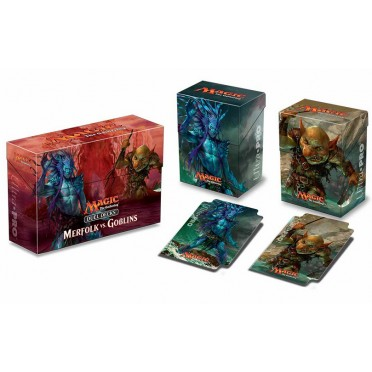 MTG Duel Deck Deckbox Merfolk vs Goblin