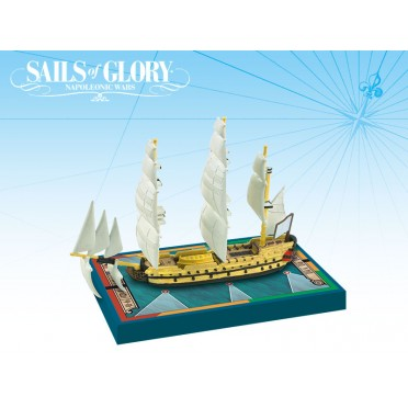 Sails of Glory - Duc de Duras 1765 - Dauphin 1766
