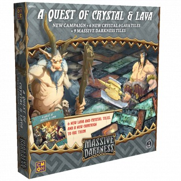 Massive Darkness (Anglais) - A Quest of Crystal and Lava