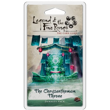 Legend of the Five Rings: The Card Game : The Chrysanthemum Throne