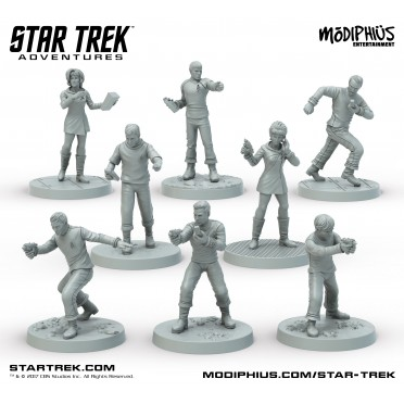 Star Trek Adventures - Miniatures : The Original Series Bridge Crew