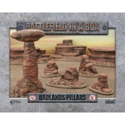 Badlands Pillars